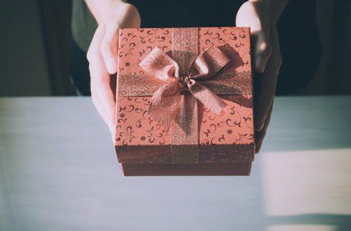 geschenk geven